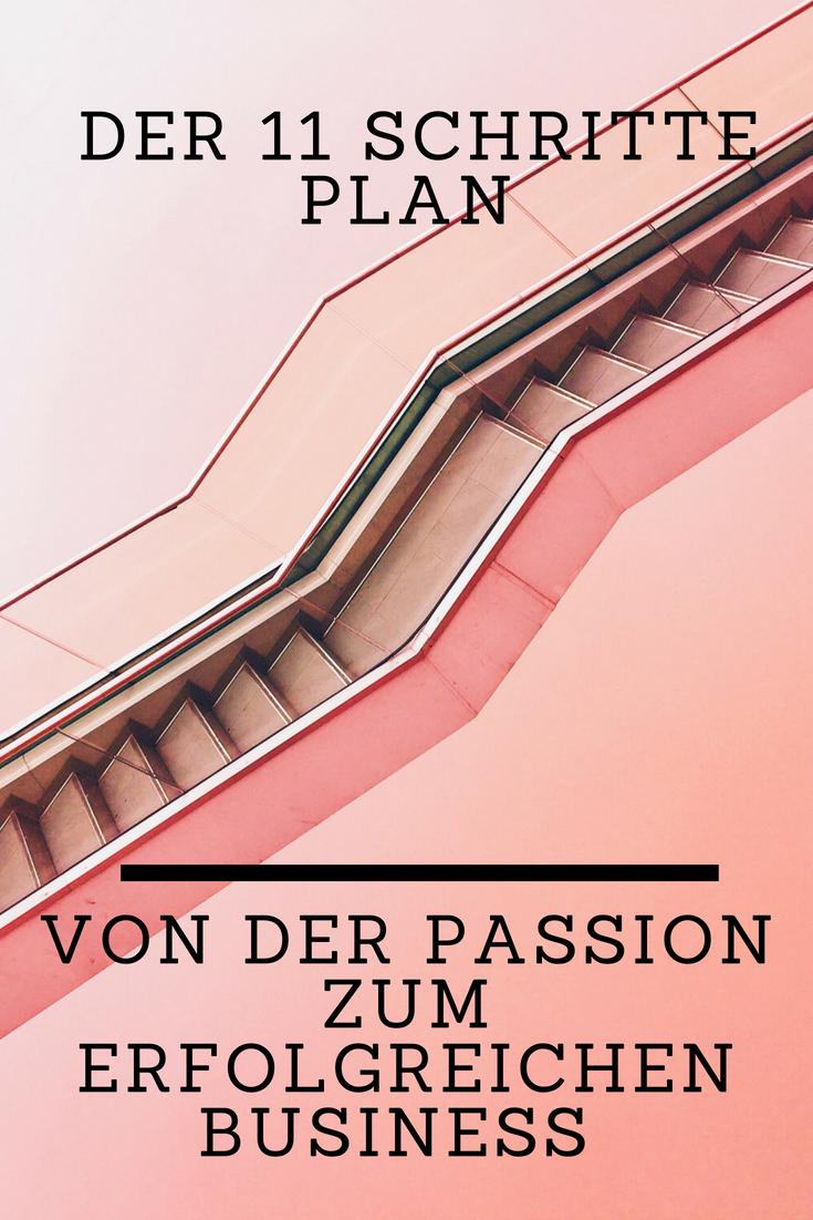 Der 11 Schritte Plan