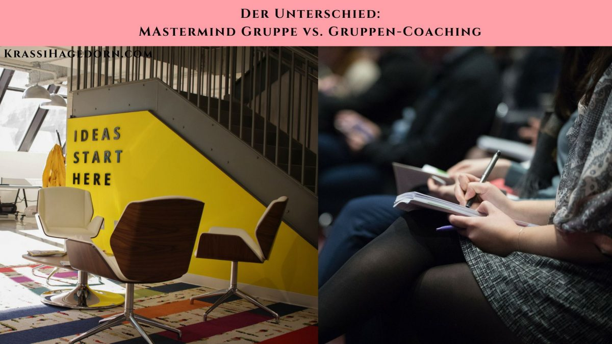 Unterschied Mastermind Gruppe vs. Coaching-Gruppe