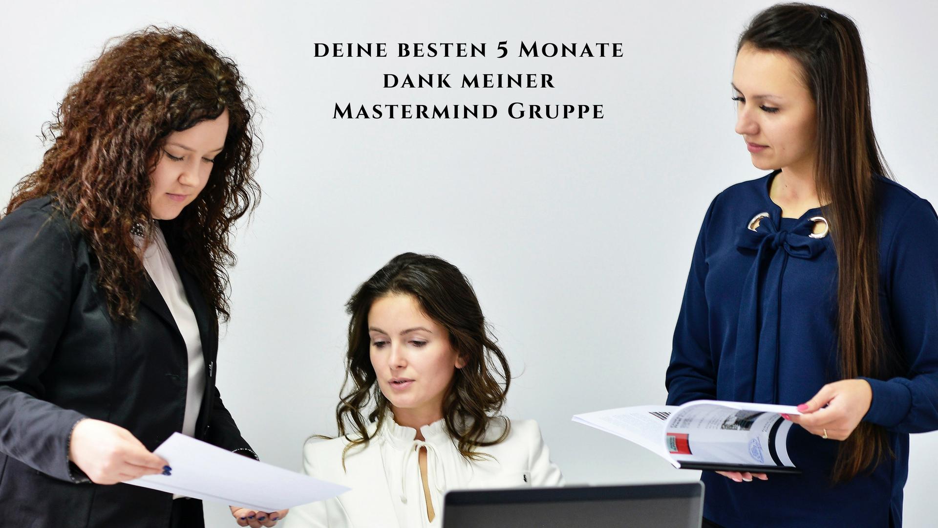 Online Mastermind Gruppe für Solopreneure, Solo-Unternehmer